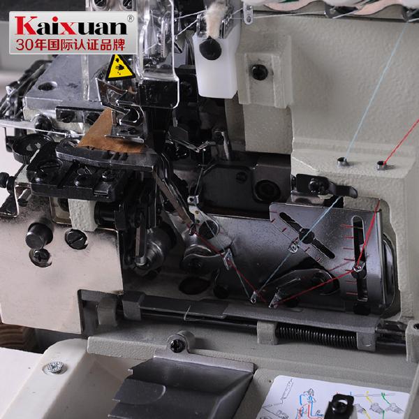 五线直驱电机包缝机 电动缝纫机电动