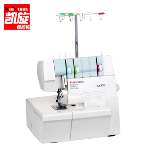 凯旋三线多功能绷缝机 迷你电动家用缝纫机 带锁边整点秒杀商品