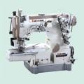 凯旋600三针五线后拖轮装置绷缝机 冚车电动缝纫机电动 特价促销